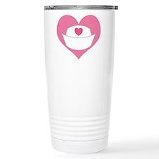 Nurse Heart Travel Mug
