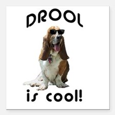 Drool is cool! Creeper Square Car Magnet