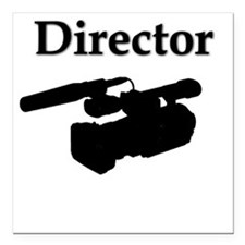 """Director"" Square Car Magnet"