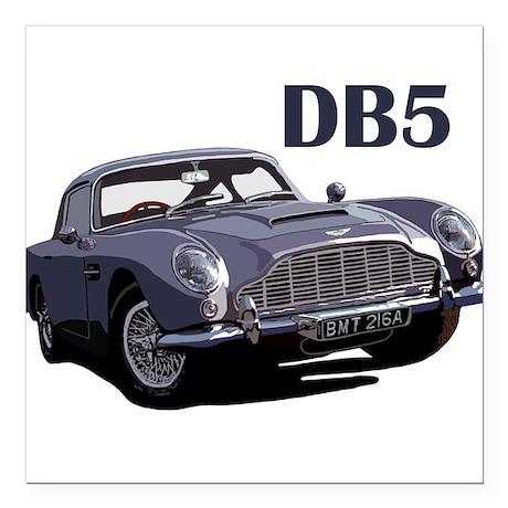The DB5 Square Car Magnet