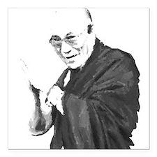 Dalai Lama Square Car Magnet