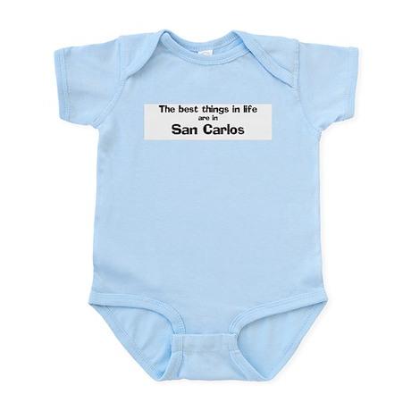 San Carlos: Best Things Infant Creeper