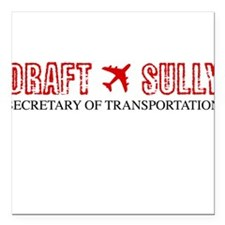 Draft Sully Square Car Magnet