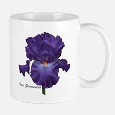 Bearded Purple Iris Coffee Mug
