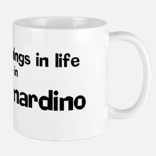 San Bernardino: Best Things Mug
