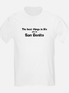 San Benito: Best Things Kids T-Shirt