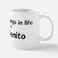 San Benito: Best Things Mug