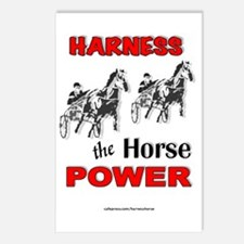 Horse Power - Red Postcards (Package of 8)