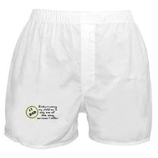 Embarrassing my children Boxer Shorts
