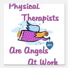 PT Angels Square Car Magnet