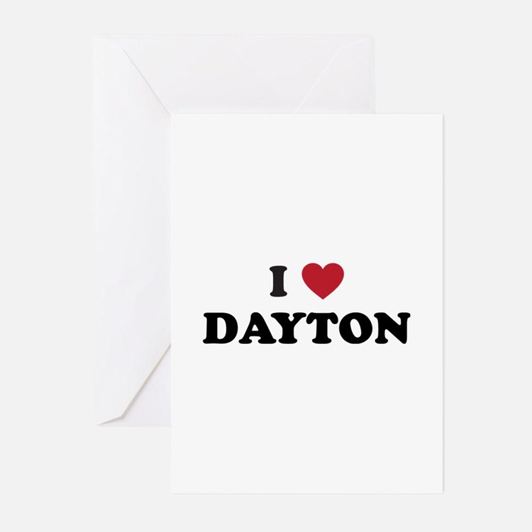 DAYTON.png Greeting Cards (Pk of 20)