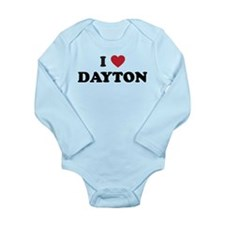 DAYTON.png Long Sleeve Infant Bodysuit
