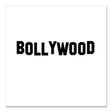 BOLLYWOOD Square Car Magnet