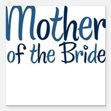 Cool Country Mother Bride Square Car Magnet