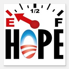 Anti Obama 2012 Square Car Magnet