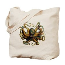 Colorful Octopus Swirling Tentacles Tote Bag