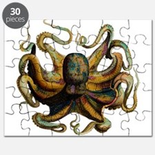 Colorful Octopus Swirling Tentacles Puzzle