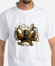 Colorful Octopus Swirling Tentacles Shirt