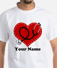 Personalized Nurse Heart Shirt