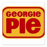 Georgie pie Square Car Magnets