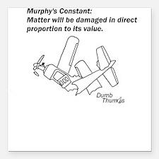 Murphy's Constant Square Car Magnet