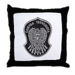 TJ PD Counter Terrorist Throw Pillow