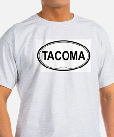 Tacoma (Washington) Ash Grey T-Shirt