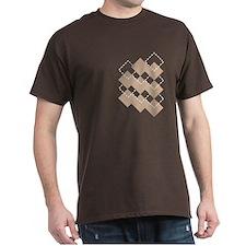 Tan Argyle T-Shirt