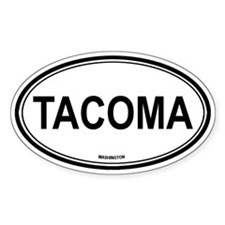 Tacoma (Washington) Oval Bumper Stickers