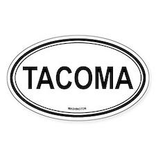 Tacoma (Washington) Oval Decal
