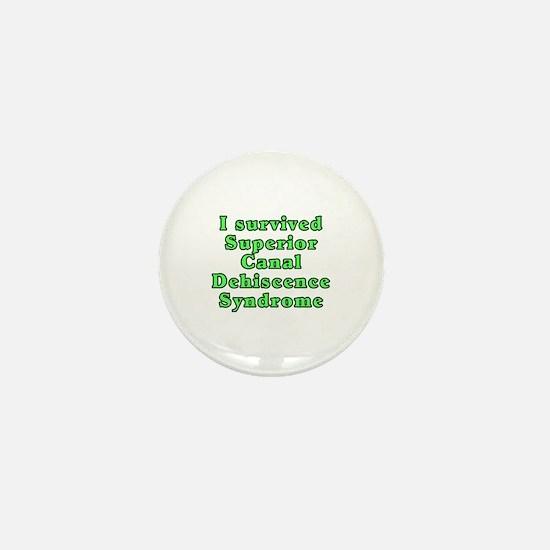 I survived SCDS - Mini Button