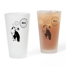 Moocan-Sam Toucan Drinking Glass