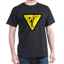 heli-caution-badge T-Shirt