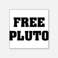 "freepluto.png Square Sticker 3"" x 3"""