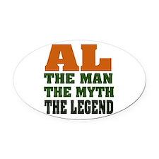 Al the Legend Oval Car Magnet