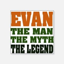 "EVAN.png Square Sticker 3"" x 3"""