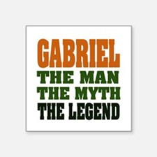 """GABRIEL - the legend! Square Sticker 3"""" x 3&q"""