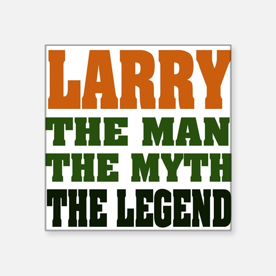 "larryMML.png Square Sticker 3"" x 3"""
