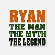 "RYAN.png Square Sticker 3"" x 3"""