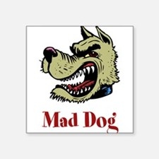 "20709416maddog.png Square Sticker 3"" x 3"""