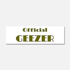 Official Geezer Car Magnet 10 x 3