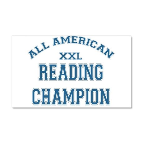 READING CHAMPION.png Car Magnet 20 x 12