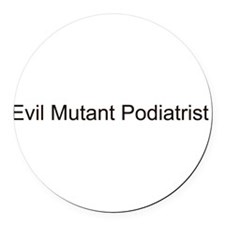 Unique Podiatrist Round Car Magnet