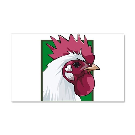 19917694chickentrans.png Car Magnet 20 x 12
