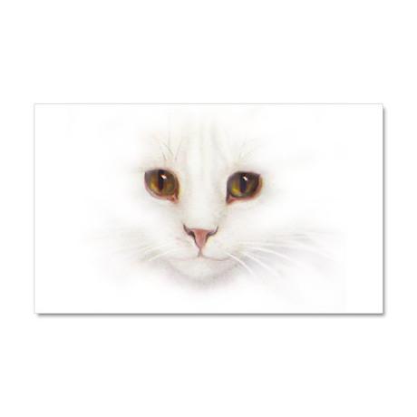 catface.png Car Magnet 20 x 12
