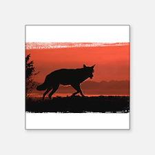 "redwolf0306h0010.png Square Sticker 3"" x 3"""