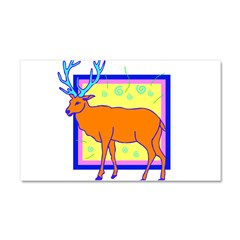 23838130deer.png Car Magnet 20 x 12