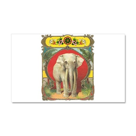 White Elephant Car Magnet 20 x 12