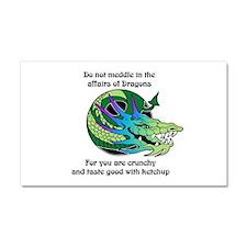 Dragon Crunchies Car Magnet 20 x 12