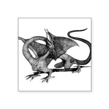 "dragonb.png Square Sticker 3"" x 3"""